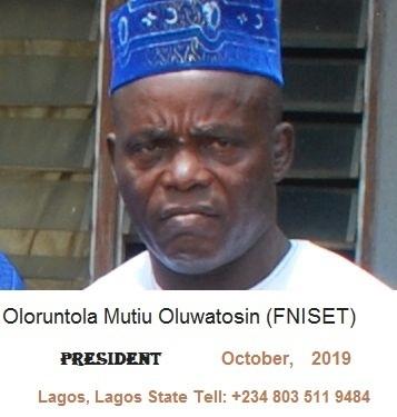 Current President of NISET